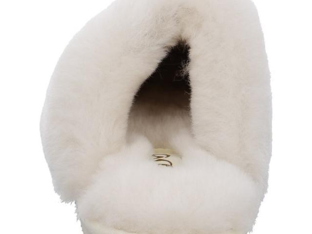 pantoufle cosy offwhite de la marque ARA confort et cocooning
