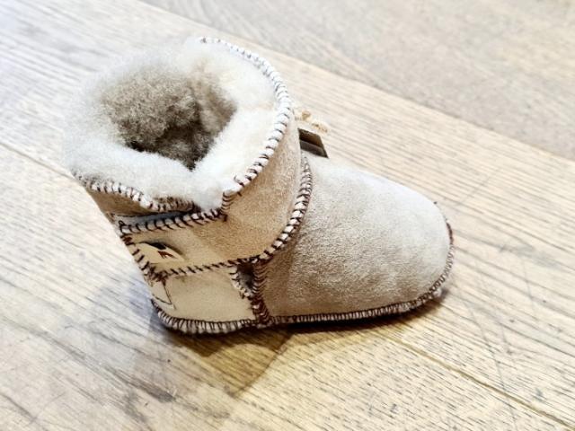 Pantoufles enfants(Bébé)  100 % naturelles fabriqué en Suède BORAS