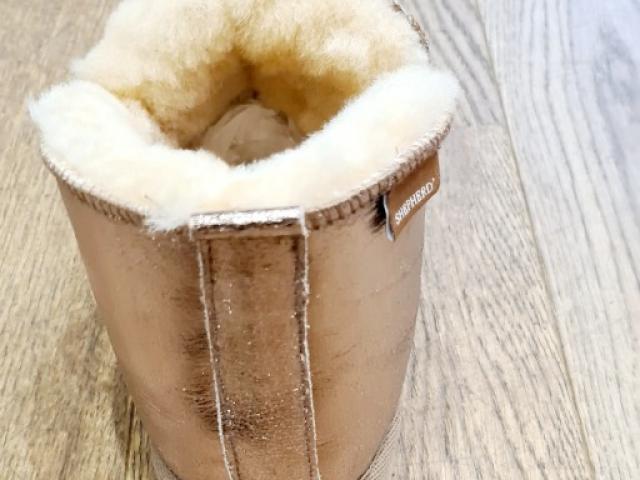 Pantoufles de qualité supérieure 100 % naturelles fabriqué en Suède ANNIE
