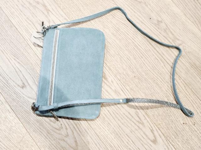 sac cuir bandoulière ou porté main Mila louise modèle Nina.