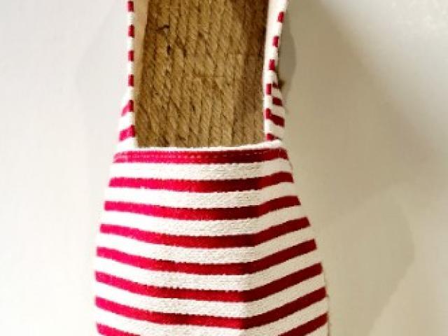 espadrille LA MAISON DE L'ESPADRILLE cousue main fabriquer en France