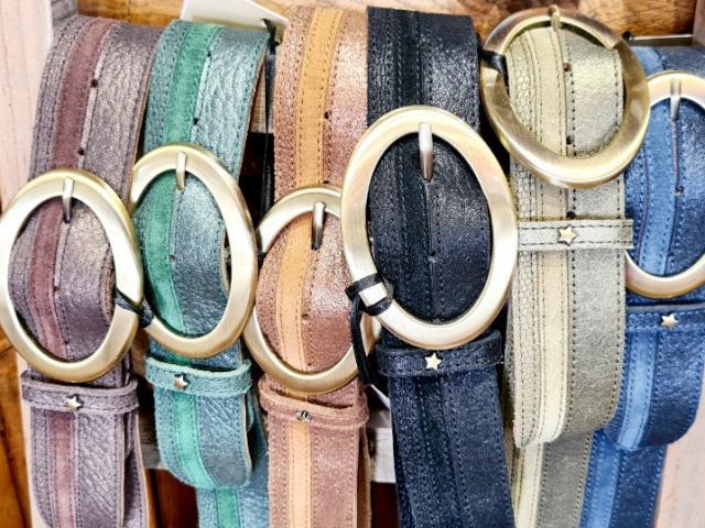 ceinture en cuir Mila Lousie créatrice française (mais)