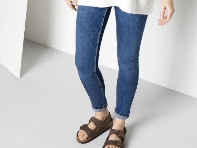 Sandale MILANO BIRKENSTOCK avec voute plantaire ergonomique