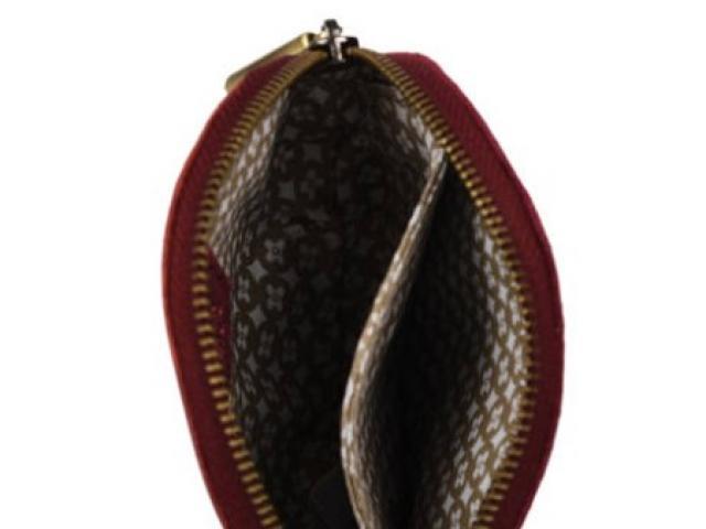 Porte monnaie porte carte en cuir . Mila louise