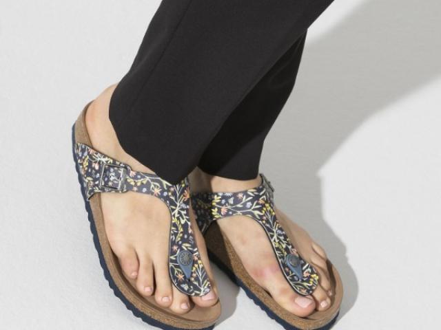 sandal GIZEH BIRKENTSTOCK avec voute plantaire ergonomique