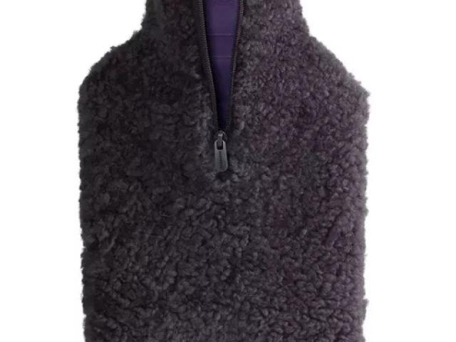 bouillote en pur laine de mouton 100%naturel sheperd