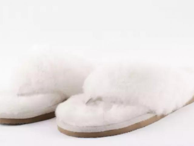 Pantoufles de qualité supérieure 100 % naturelles fabriqué en Suède (pernilla)