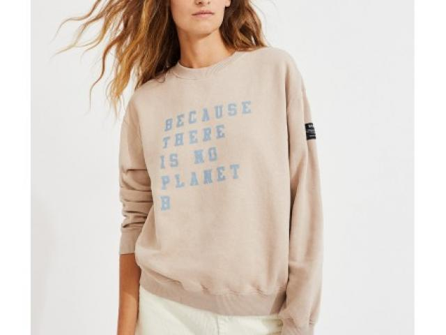 T-shirt  Ecoalf message , coton biologique et recyclé femme
