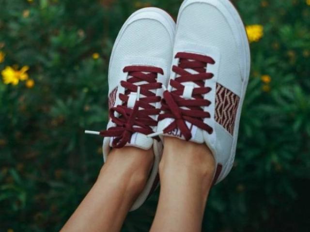basket n'go recyclé , confort légèreté et voute plantaire pour une marche optimal