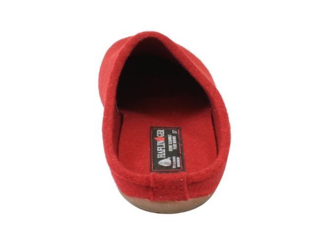 Chausson Slippers Everest Fundus rouge de la marque Haflinger