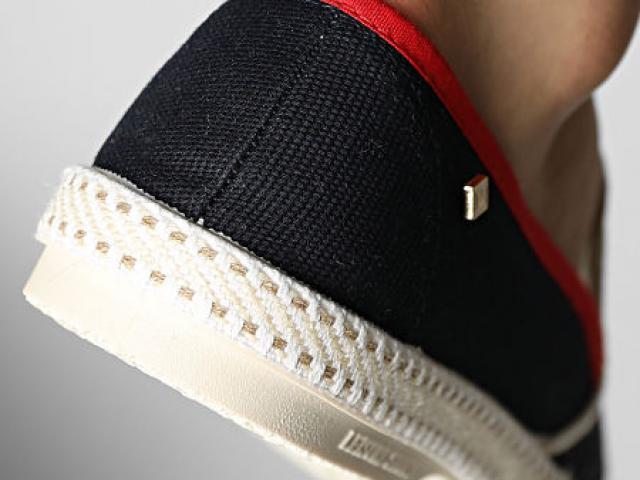Chaussure Riviera en toile recyclée et résistante pour un look casual