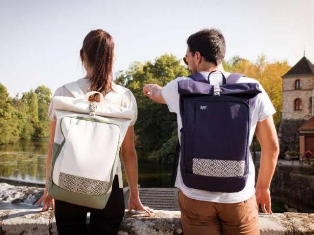sac à dos N'go 100 % recyclé