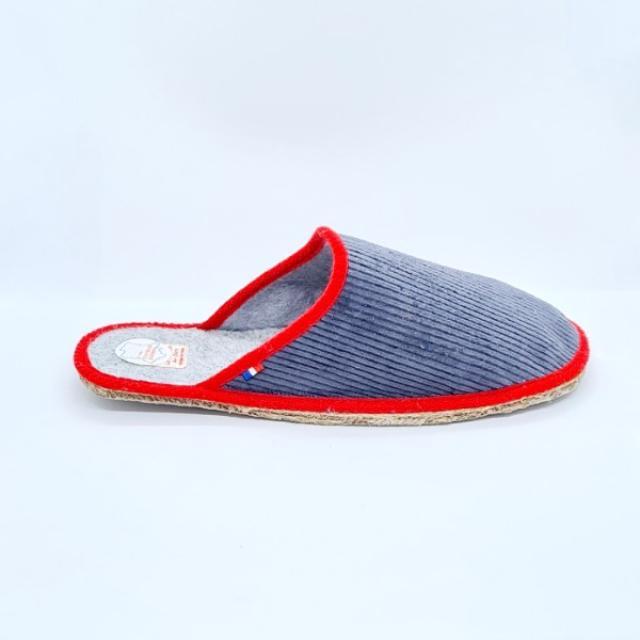 la pantoufle du Berry fabrication française méthode artisanal .modèle papou