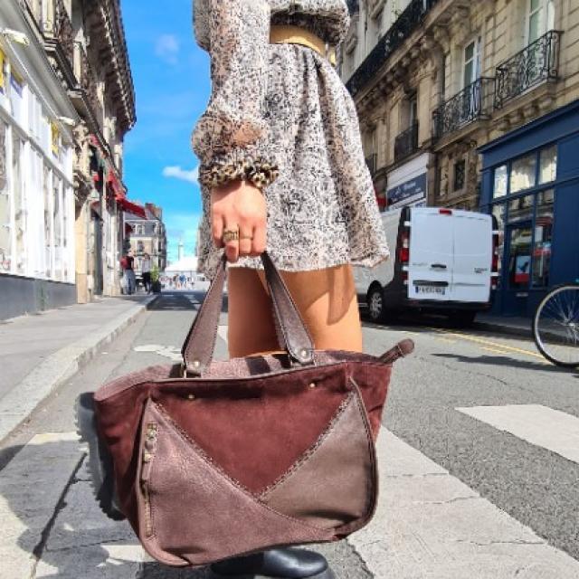 Sac à main cuir Mila louise  créatrice Française (RYMA)