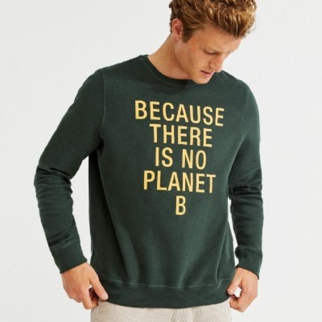 sweat message Ecoalf  mode et écologique hommes et femmes